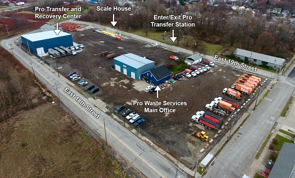 Erie Transfer Station Directions